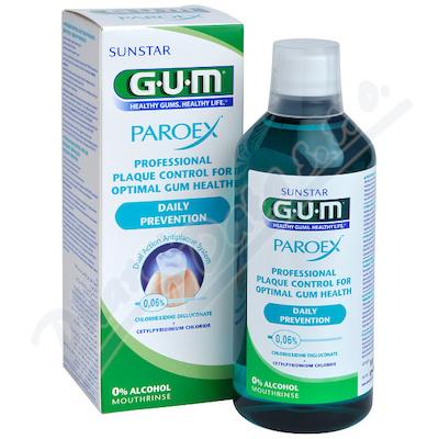 GUM úst.voda PAROEX(CHX 0.06%)500ml 1702