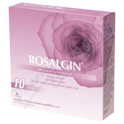 Rosalgin vag.plv.sol.10x0.5g