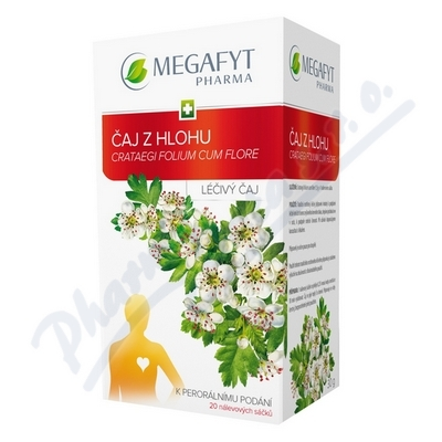 MEGA Čaj z hlohu 20x1.5g