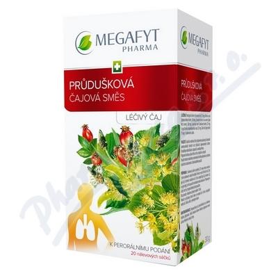 MEGA Průdušková čajová směs n.s.20x1,5g