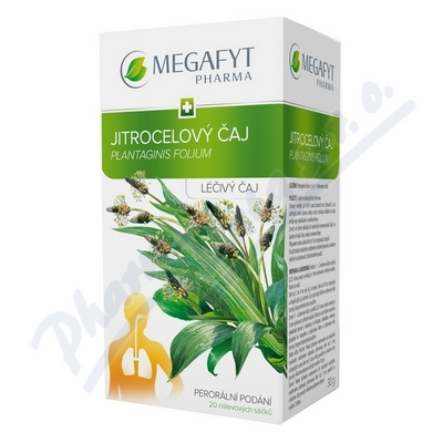MEGA Jitrocelový čaj n.s.20x1.5g