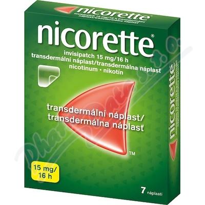 Nicorette Invisip.15mg/16h drm.em.7x15mg