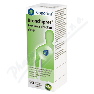 Bronchipret Tymian a Brectan sirup 50ml