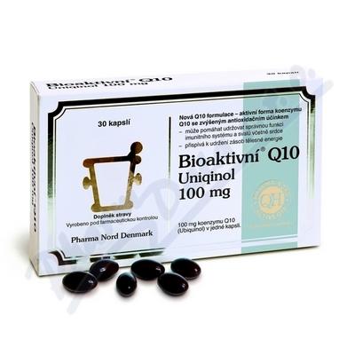 Bioaktivni Q10 Uniquinol 100mg cps.30