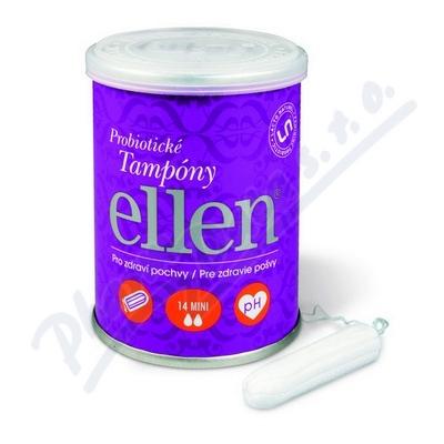 Ellen probiotické tampóny - Mini 14 ks