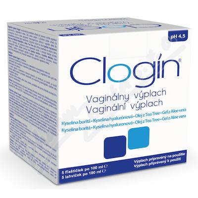 CLOGIN vaginální výplach 5x 100 ml