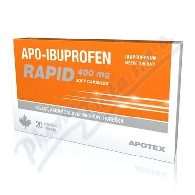 Apo-Ibuprofen Rapid 400mg cps.20x400mg