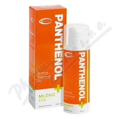 TOPVET Panthenol+Mléko 11% 200ml