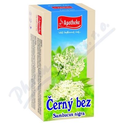 Čaj Černý bez květ 20x1.5g APOTHEKE