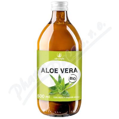 Allnature Aloe Vera BIO 100% šťáva 500 m