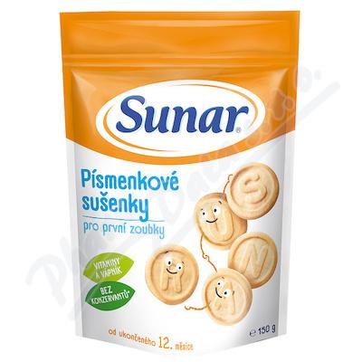 Sunar písmenkové sušenky 150g 49200150