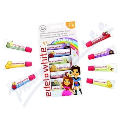 EDEL+WHITE Ovocná zu.pas.pro děti7x9,3ml