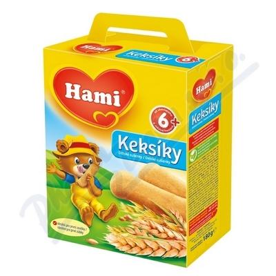 HAMI Keksíky děts.sušenky 180g 6M 639441