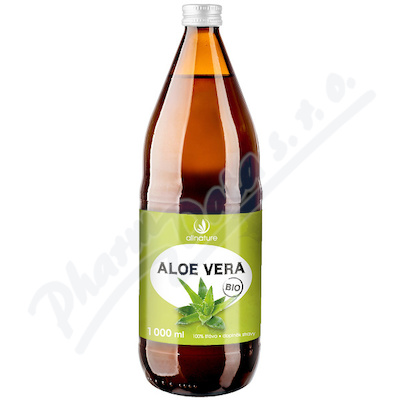 Allnature Aloe Vera BIO 100% šťáva 1000