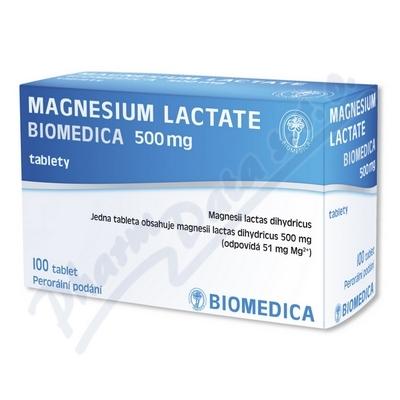 Magnesium lact.Biom.500mg tbl.100
