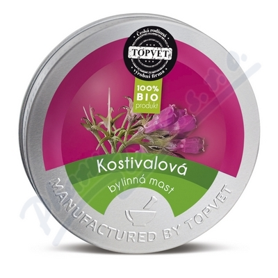 TOPVET Kostivalová byl.mast 50ml