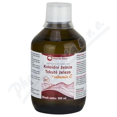 Koloidni železo + vitamin C 300ml