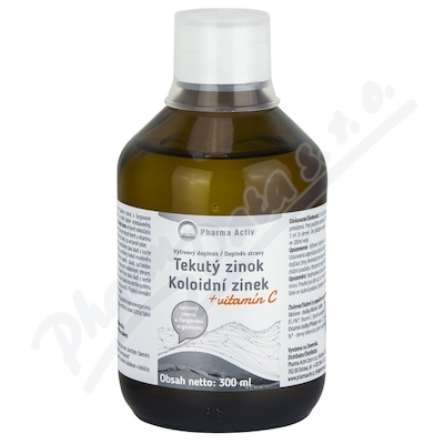 Koloidní zinek + vitamin C 300ml
