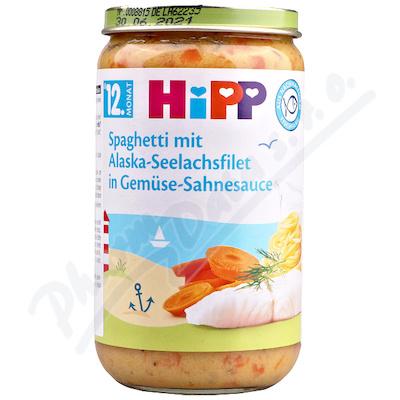 HiPP Špagety+moř.ryba+zel.250g 6825-01