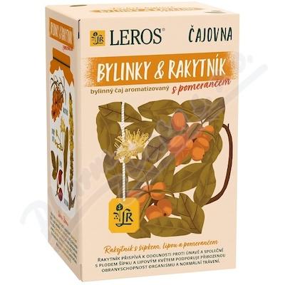 LEROS Čajovna Rakytník a pomeranč 20x2g