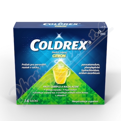 Coldrex Horký nápoj Citron por plv s.14