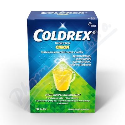 Coldrex Horký nápoj Citron 10 sáč.