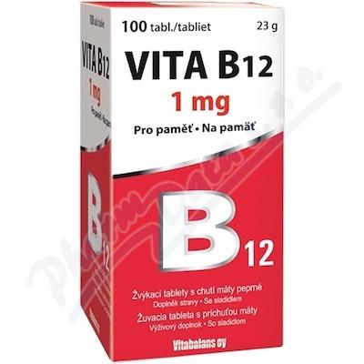 Vita B12 1000 mcg 100 tablet