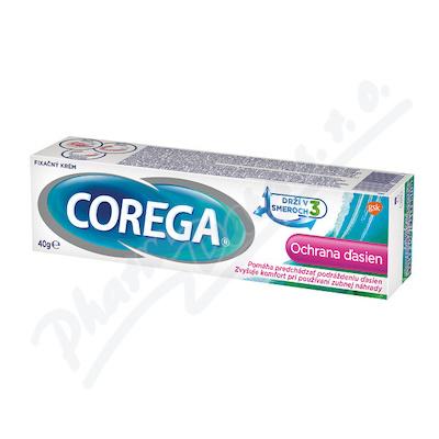 Corega Fix.krém Ochrana dásní 40g