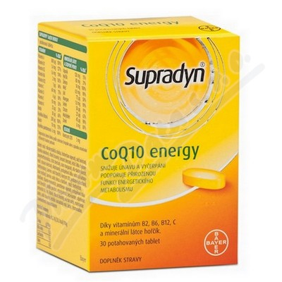 Supradyn CO Q10 Energy 30 tbl.