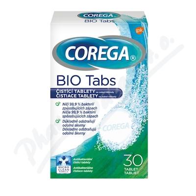 Corega BIO Antibakteriální tablety 30ks