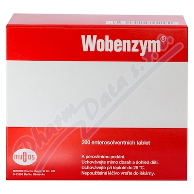 Wobenzym 200 enteros.tablet