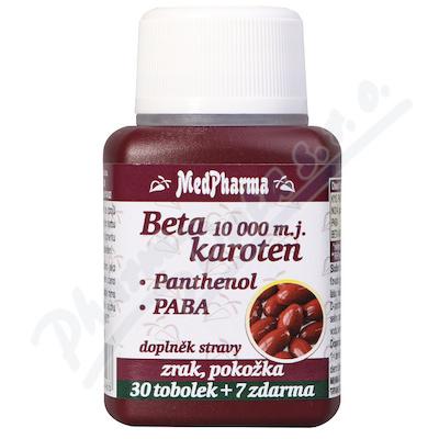 MedPh Beta karot.10000 37tbl.Pant+PABA