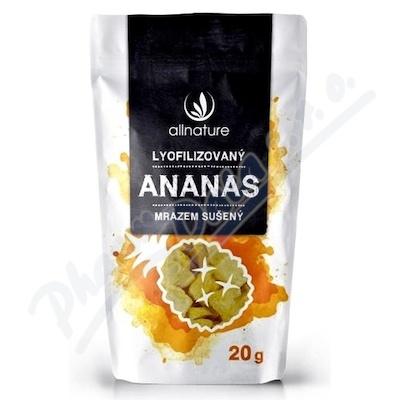 Allnature Ananas suš.mrazem kousky 20g