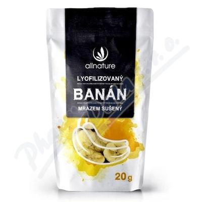 Allnature Banán suš.mrazem plátky 20g