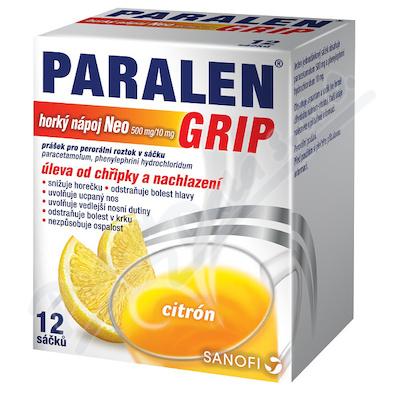 Paralen Grip Horký Napoj Neo 500mg/10mg