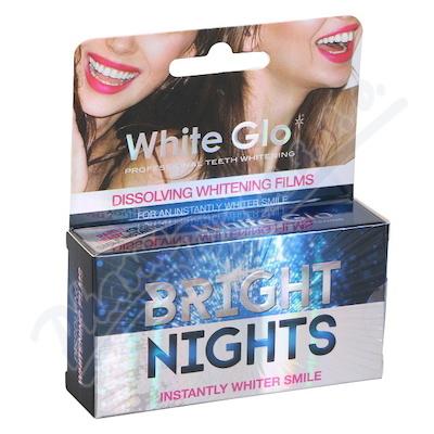 WHITE GLO Bělící film na zuby 6ks