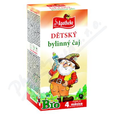 Čaj dětský BIO bylinný 20x1.5g APOTHEKE