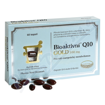 Bioaktivni Q10 Gold 100mg cps.60