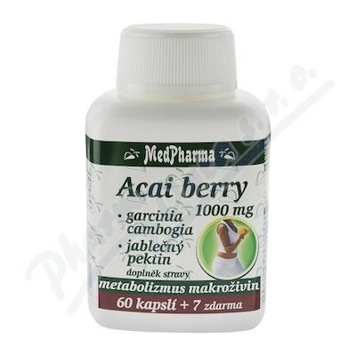 MedPh Acai berry 1000mg+Garcinia67tbl.