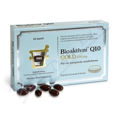 Bioaktivni Q10 Gold 100mg cps.30