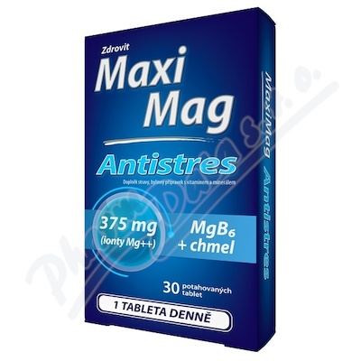 MaxiMag Antistres 375mg Mg+B6 30 tablet