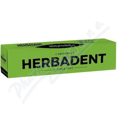 HERBADENT ORIGINAL byl. gel na dásně 25g