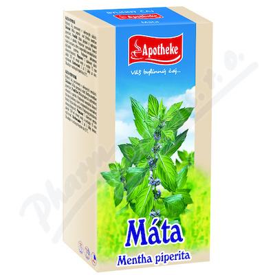 Čaj Máta peprná n.s.20x1.5g APOTHEKE