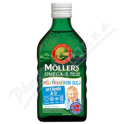 Mollers Omega 3 Můj první rybí ol.250ml