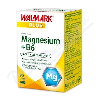 W Magnesium + B6 tbl.90