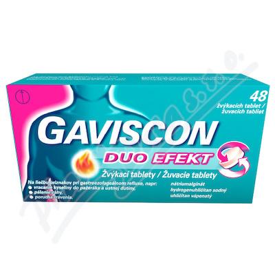 Gaviscon Duo Efekt žvýk.tab.tbl.48