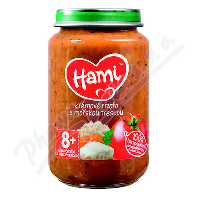 Hami př.krém.riz.+moř.treska 200g 637754