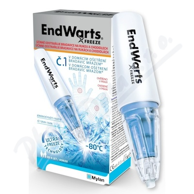 EndWarts FREEZE 7.5g kryoterapie bradavi