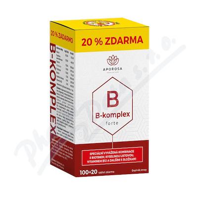 APOROSA B-komplex forte tbl.120