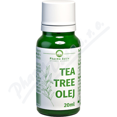 Tea Tree olej s kap.20 ml Pharma Grade